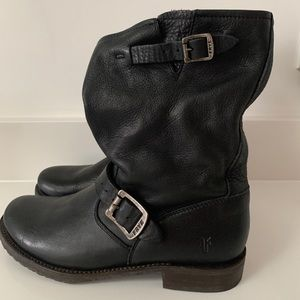 Frye Motorcycle Style Boots